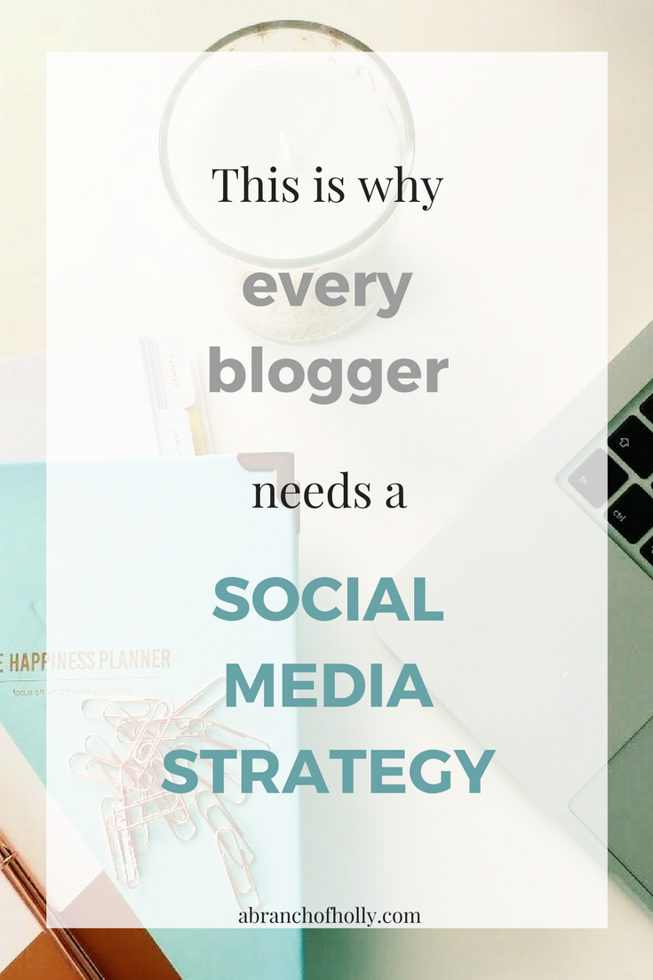 THIS IS WHY EVERY BLOGGER NEEDS A SOCIAL MEDIA STRATEGY