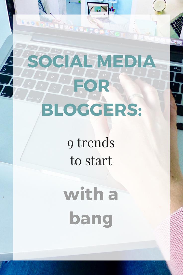 social media trends for bloggers