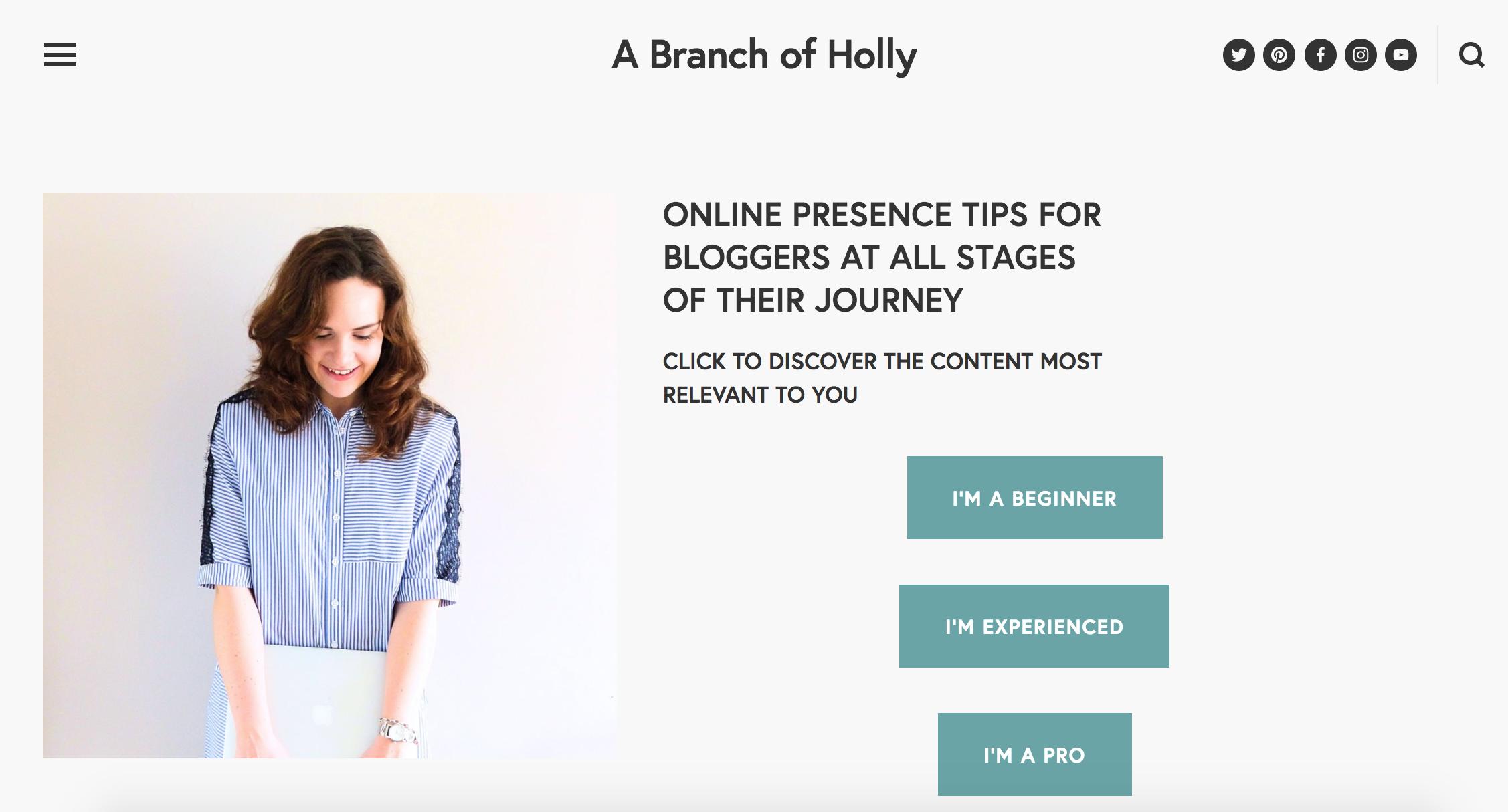 best blogging tools - squarespace
