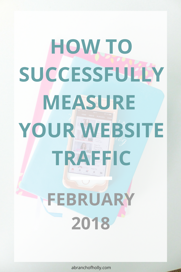 HOW TO SUCCESSFULLY MEASURE YOUR WEBSITE TRAFFIC - FEBRUARY 2018