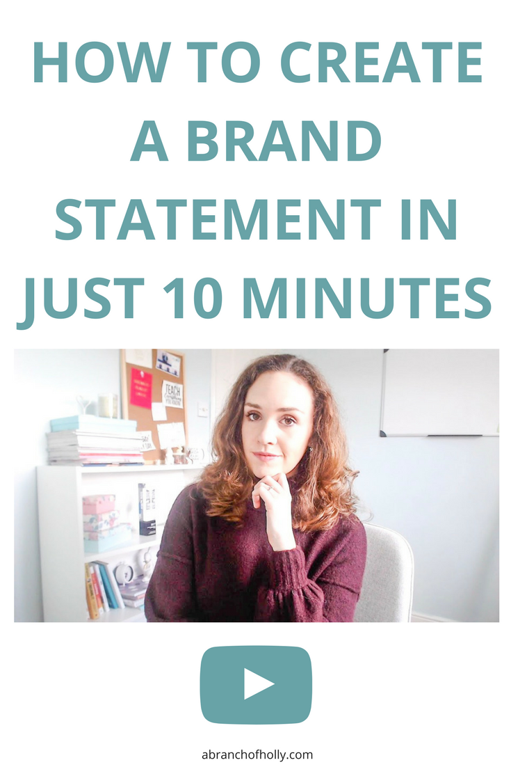 If you want a clear, powerful brand statement or mission statement, you need to follow this guide.