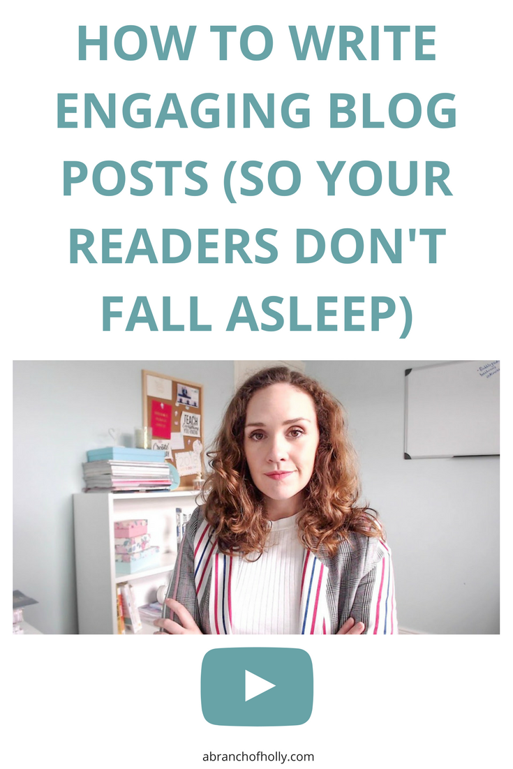 Want to make sure your readers don't fall asleep when reading your content? This is how to write engaging blog posts that people will actually want to read.
