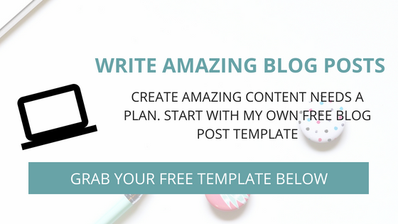 5 steps to building an amazing content writing creation plan - free blog post template