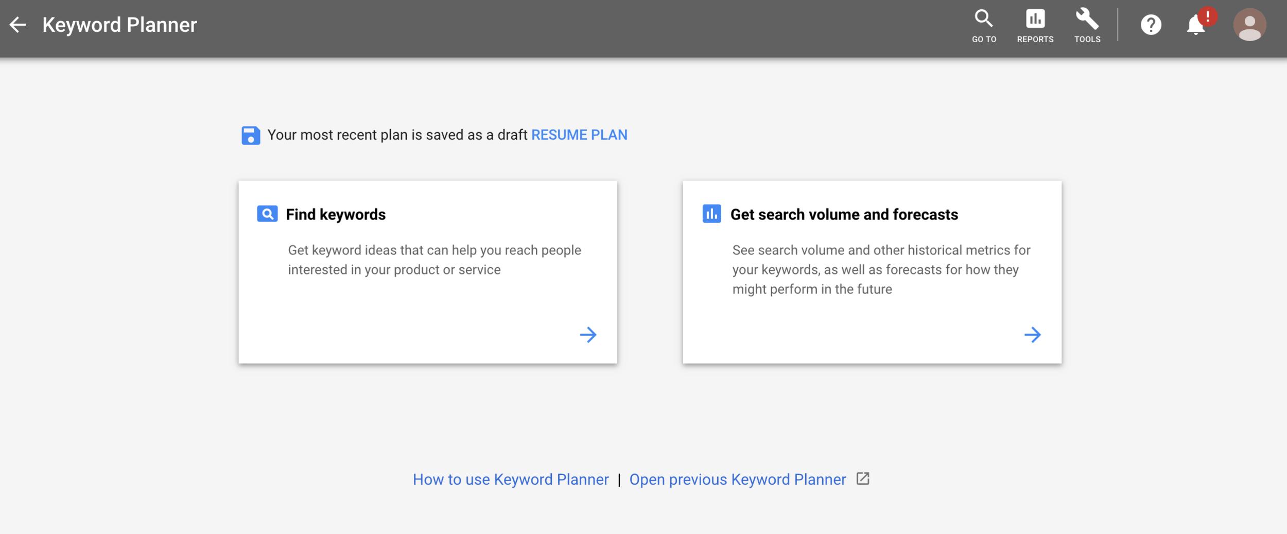 online presence plan