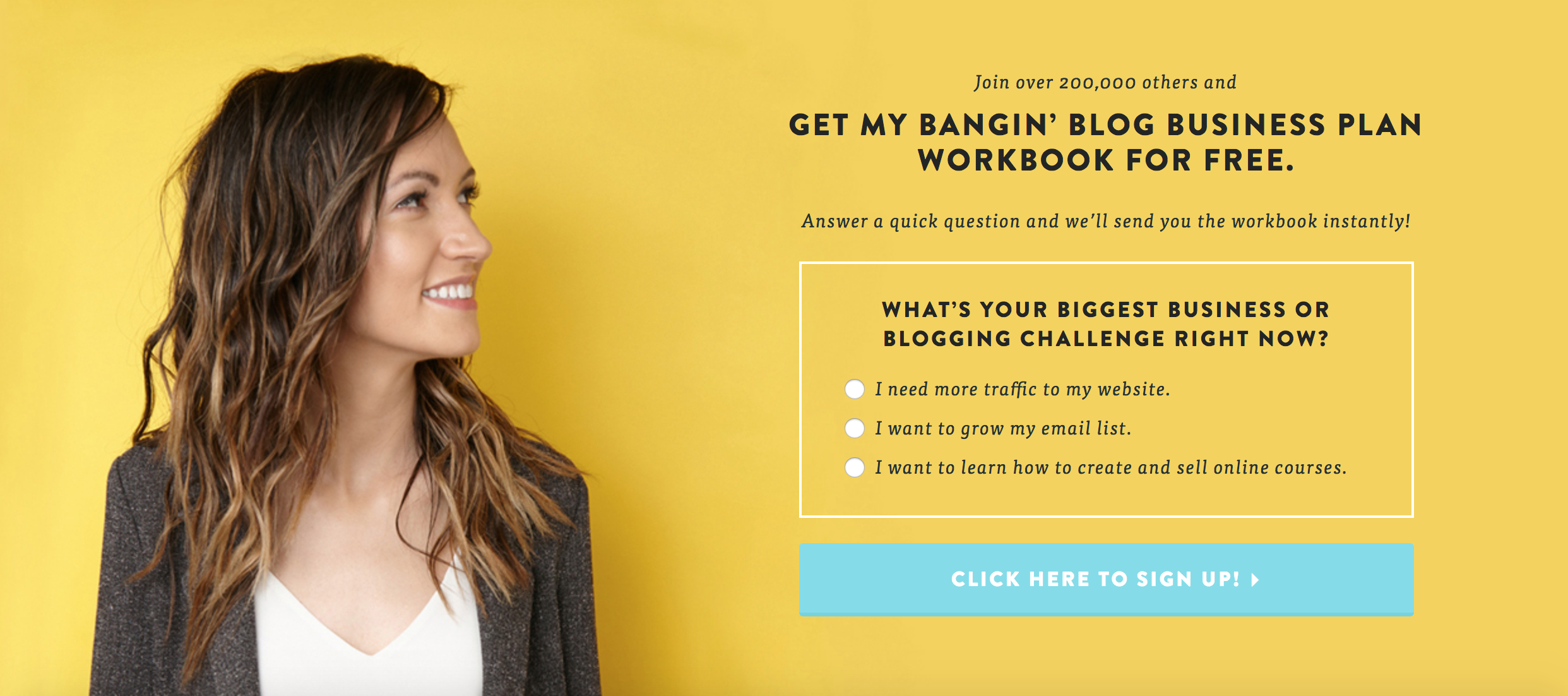 how to build a blog even if you have low traffic