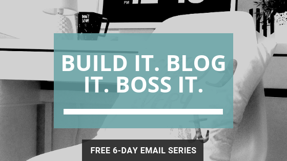 a branch of holly blogging tips