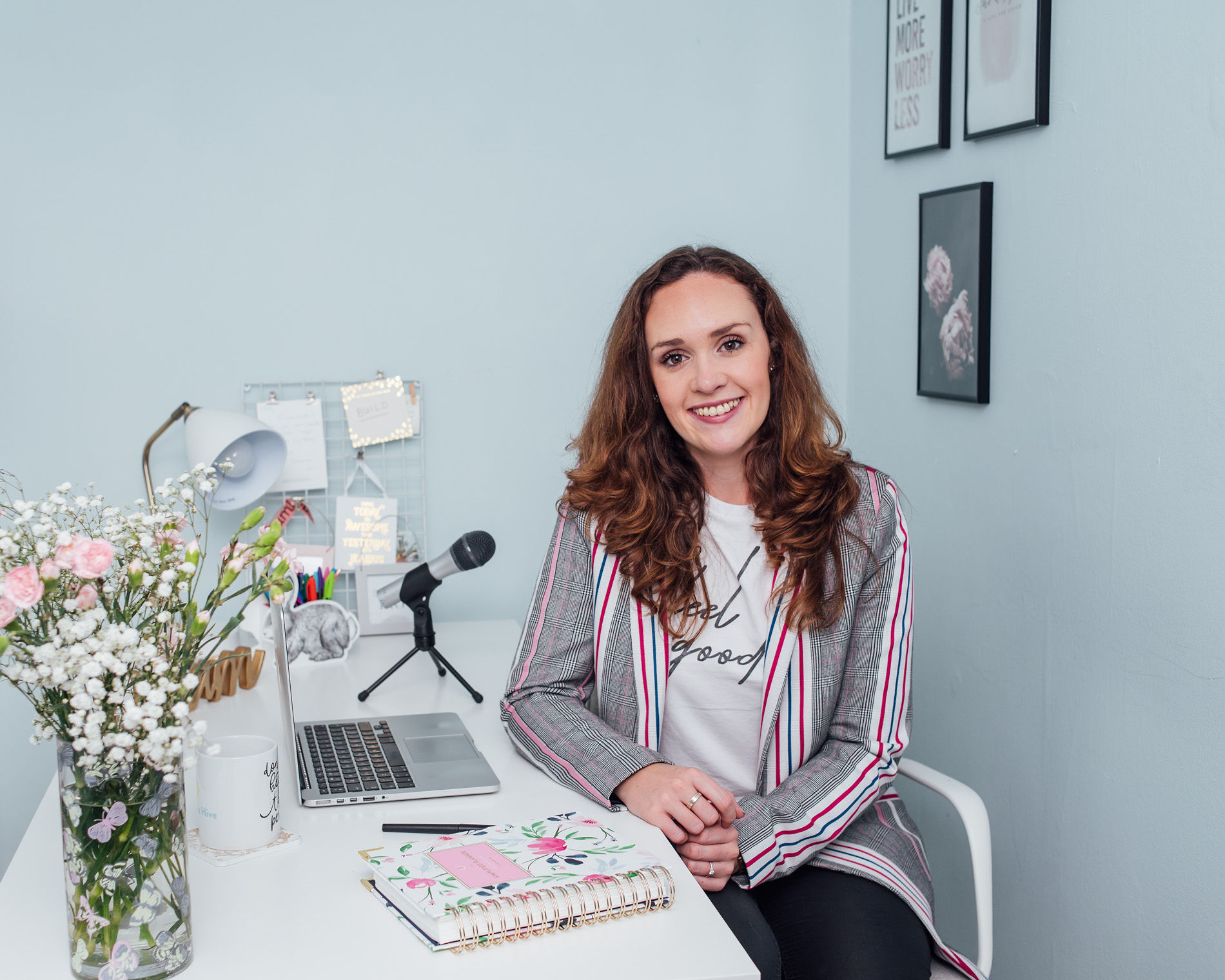 """hey! i'm holly. Creating this online space is what I'm meant to do."" -"