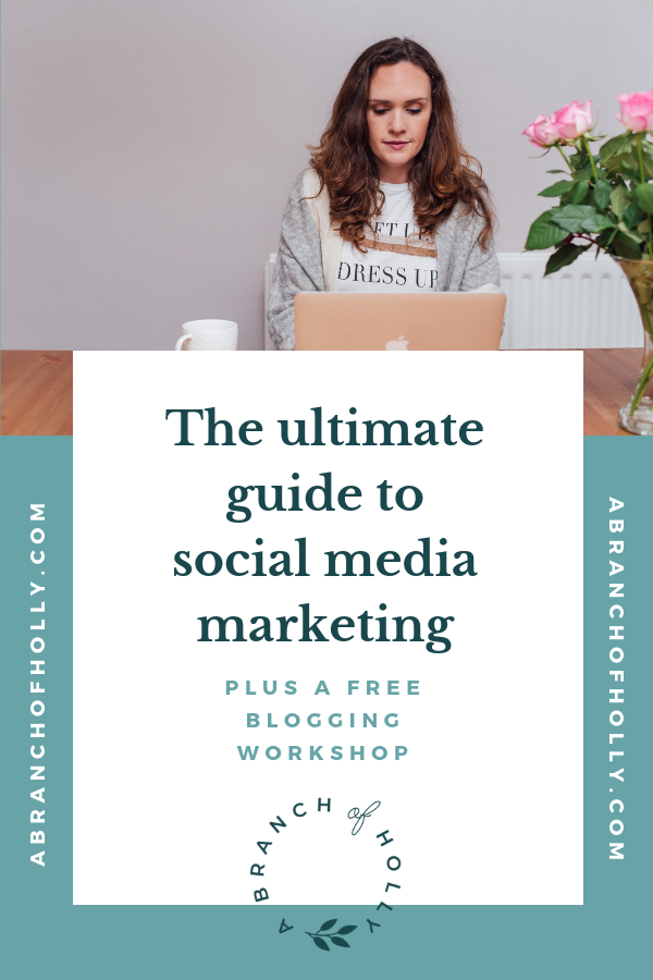 THE ULTIMATE GUIDE TO SOCIAL MEDIA MARKETING: HOW TO USE SOCIAL MEDIA MARKETING TO GROW YOUR VISIBILITY & REACH YOUR GOALS