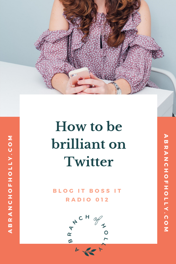 how to be brilliant on twitter