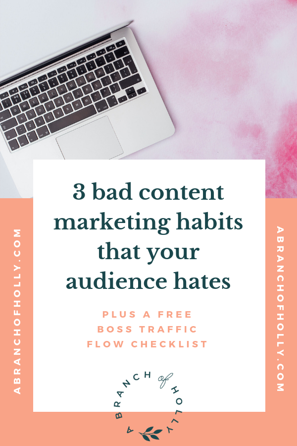 3 BAD CONTENT MARKETING HABITS THAT YOUR AUDIENCE HATES BLOG IT BOSS IT RADIO EPISODE 18