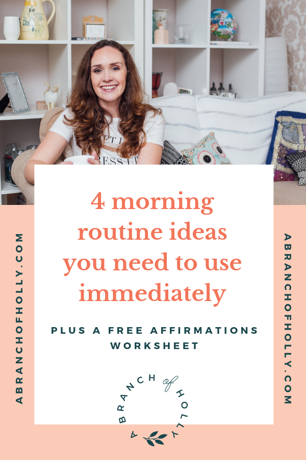 Do you want to learn how to create a successful morning routine? In this post I'll share my top tips on how to create a healthy morning routine that will work for for teens, for adults, for moms and more. Plus how you can create a morning routine checklist you can keep coming back to again and again. Repin and grab my free worksheet to start listing your daily affirmations! #morningroutine #productivity #affirmations #motivation