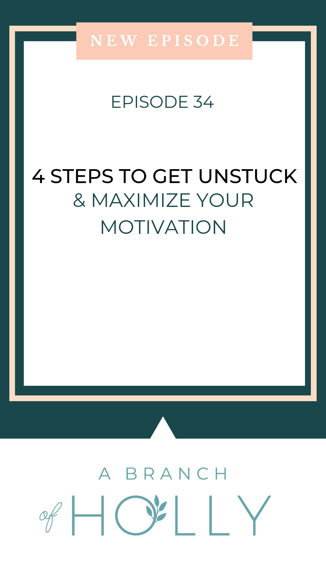 If you're feeling stuck in any area of your business, this episode is for you. With an excuse, there is always a way to get past it.   So let me walk you through how to start moving forward in the direction that you want to go. We are going to explore four areas that are likely keeping you stuck. There's always something we can do to get unstuck or to get motivated again. Click through to listen to the full episode and join the FREE 4-Day Mini Training Series! #motivation #entrepreneur #businessowner