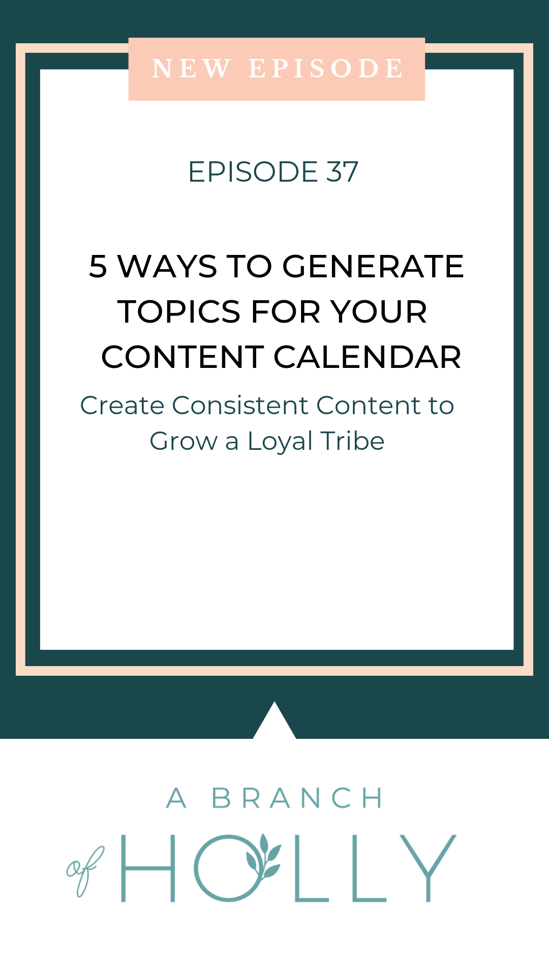 Want to learn some content creation hacks to create three months' worth of ideas in just 2 hours? In this episode, I'll share with you my top tips on how to make the most out of your content calendar, including ideas to stay organised, writing tips, social media ideas and so much more that you can implement in your business. Repin and get access to my free 3-month content calendar template! #contentcreation #socialmedia #businesstips
