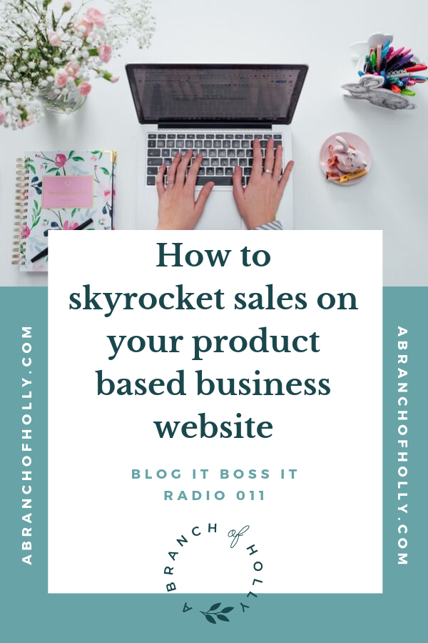 Want to learn some sales tips for your product based business website? In this post, you'll discover some marketing ideas to put in place on your product based business website, as well as how to make your website look professional so it sells more of your products. Repin and get access to a free 3-month content calendar so you can put some of these sales tips into action! #salestips #business #marketing