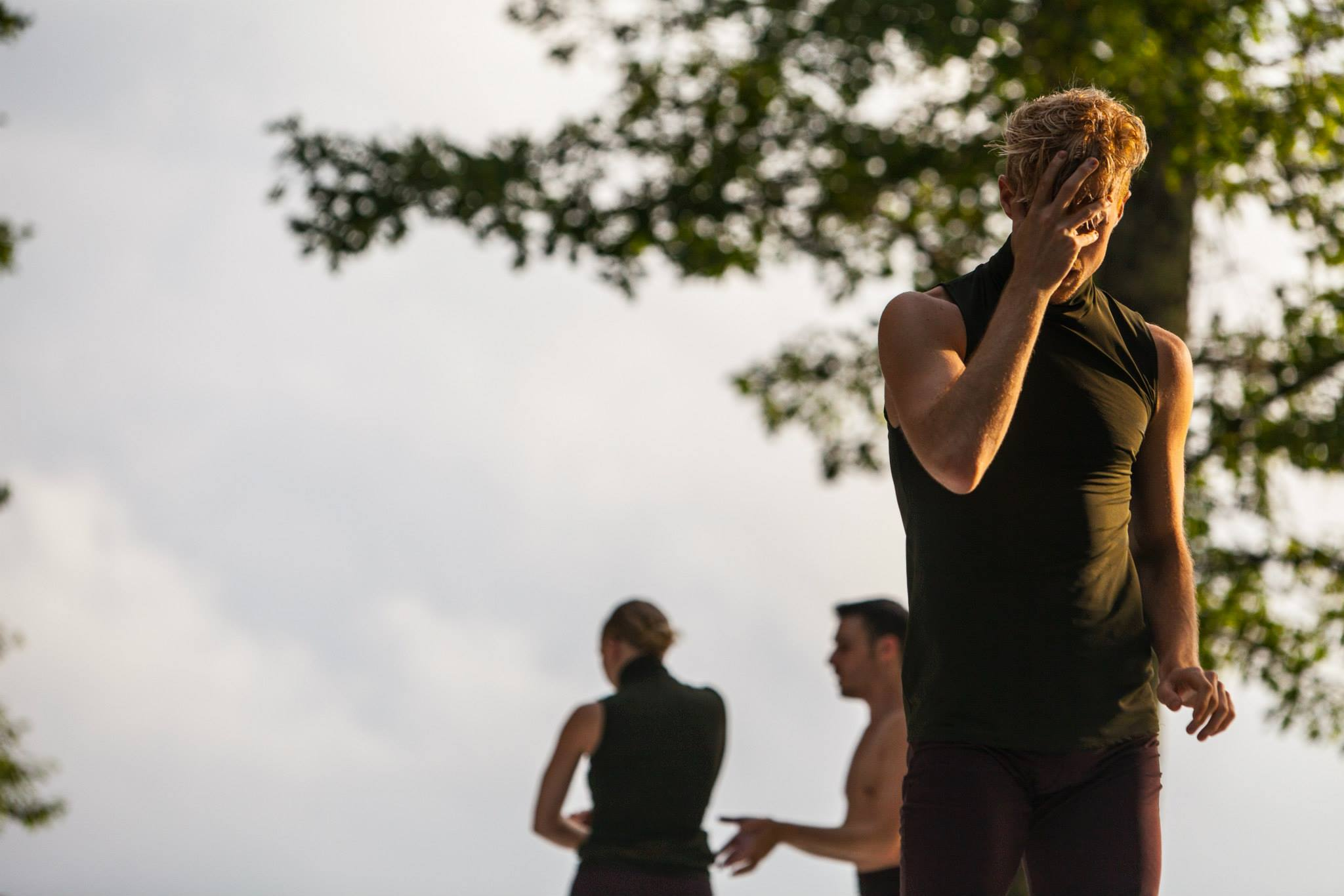 photo: Charlie Winter  Mettin Movement at Jacob's Pillow July 2015