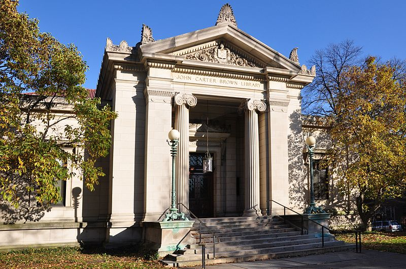 John Carter Brown Library at Brown University  Credit: chensiyuan under CC 4.0.
