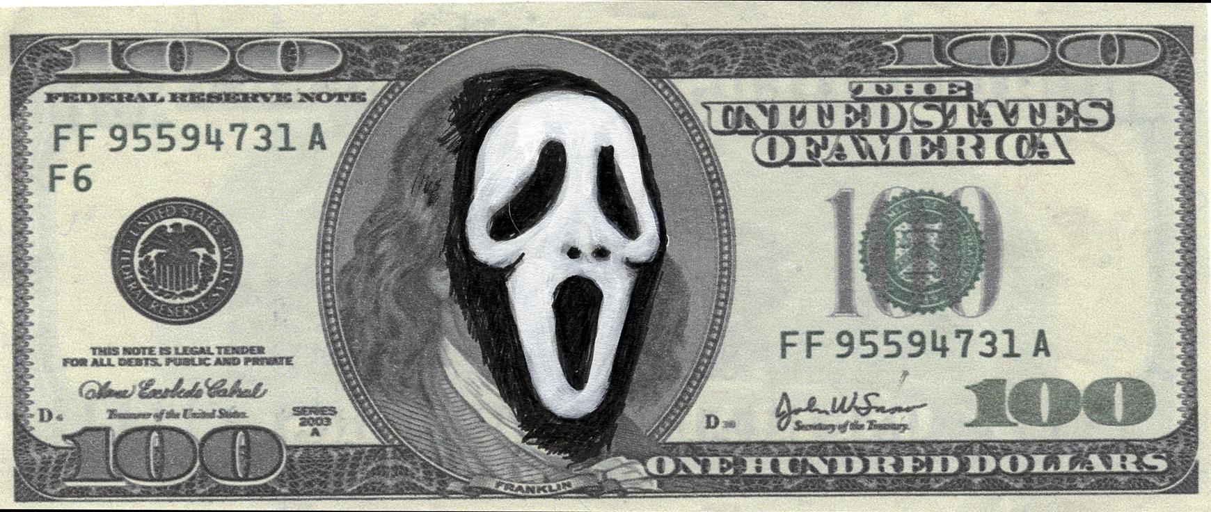 Scream  Mixed Media - 2.5 x 6in - 2011
