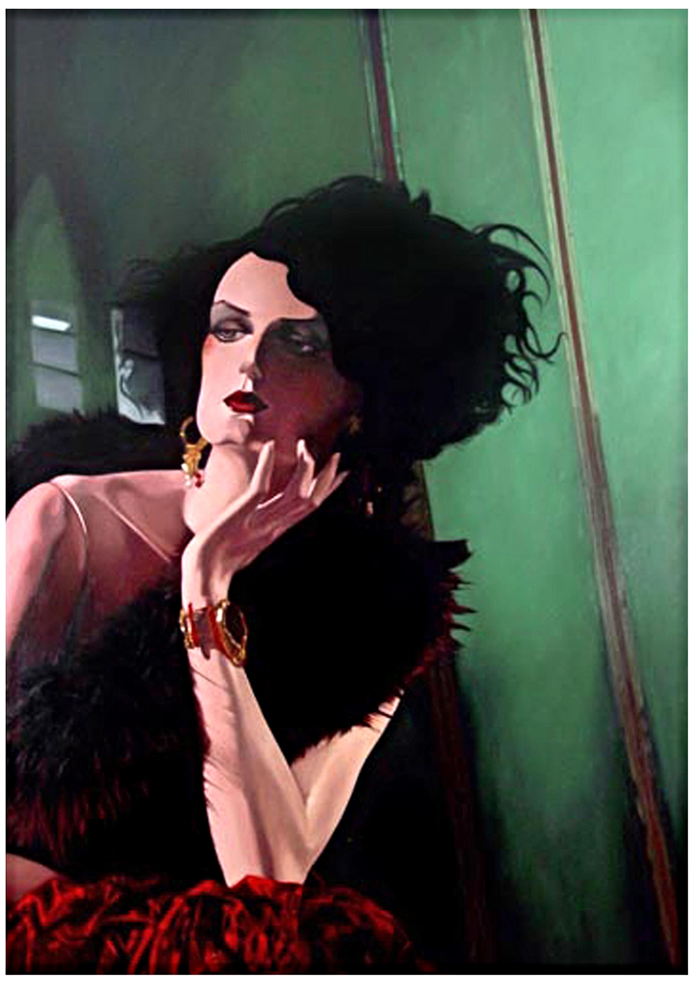 """Grace in """" The Gaze""""  Oil On Canvas - 72 x 50in - 2004"""