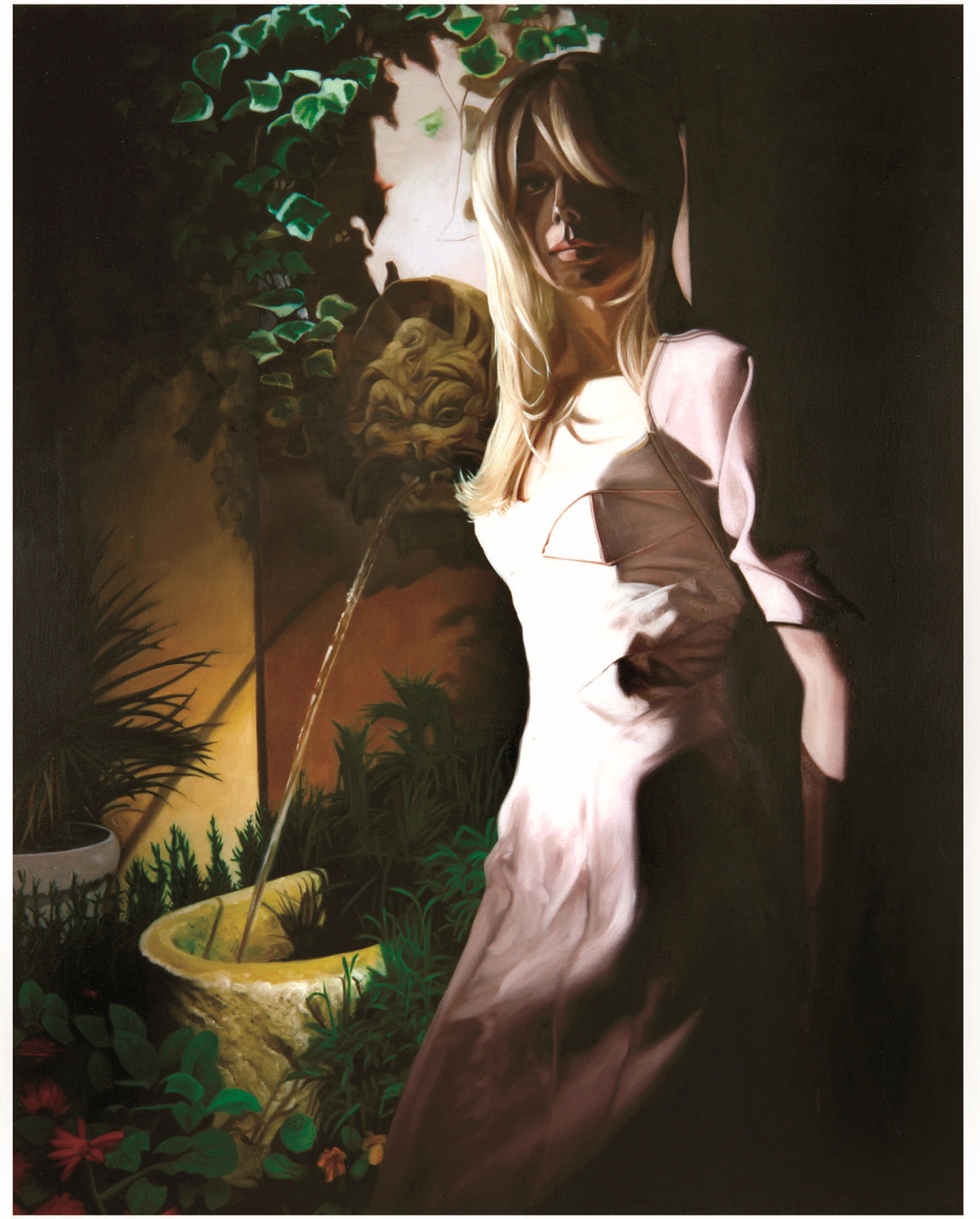 """Eve in """"The Garden""""  Oil on Canvas - 45 x 35in - 2004"""