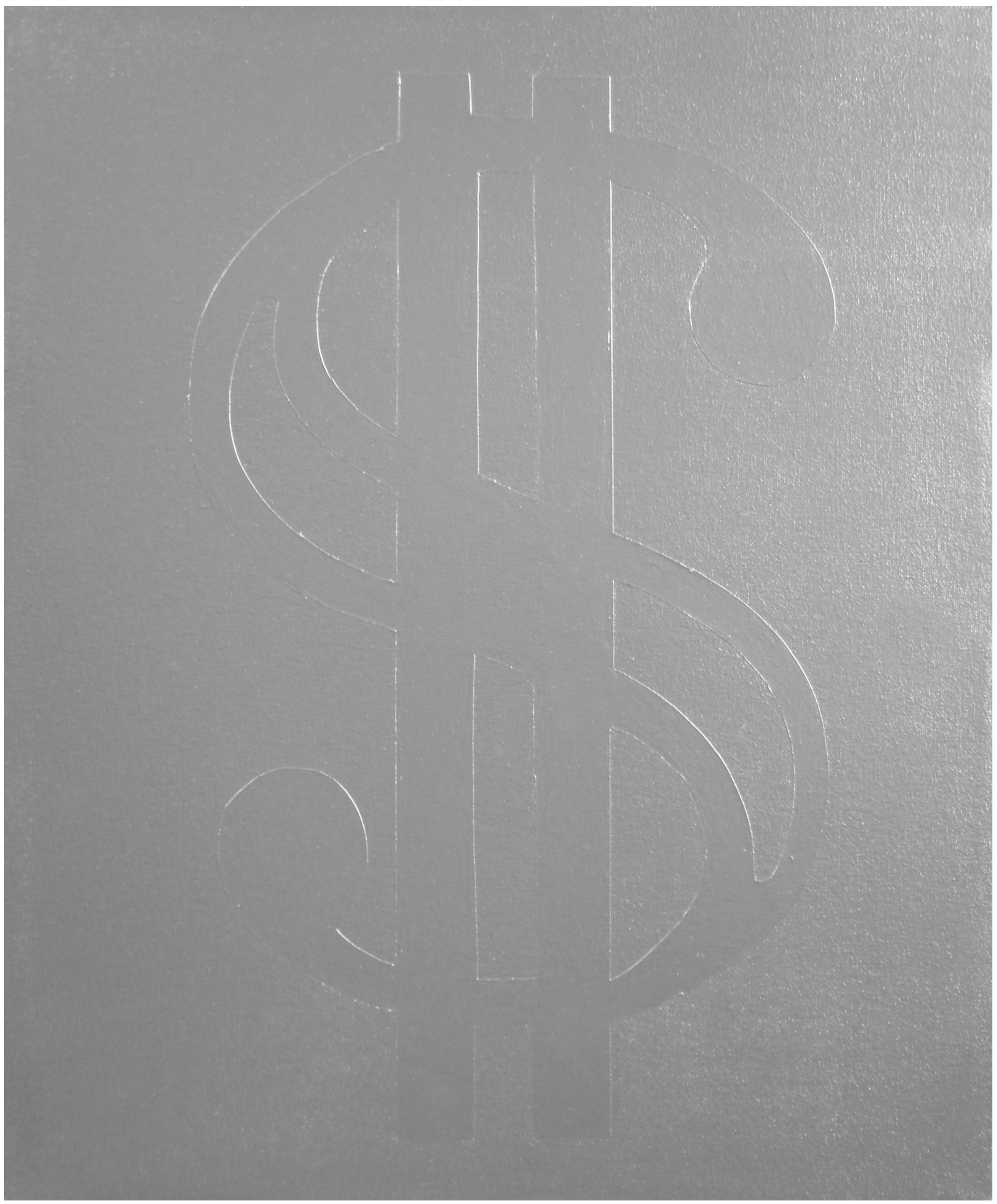Money  Industrial Paint on Canvas - 24 x 20in - 2011