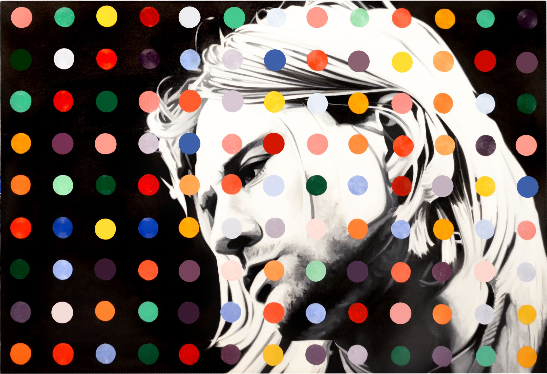 Kurt Dot  Oil on Canvas  -  41 x 60in  -  2013                                         SOLD