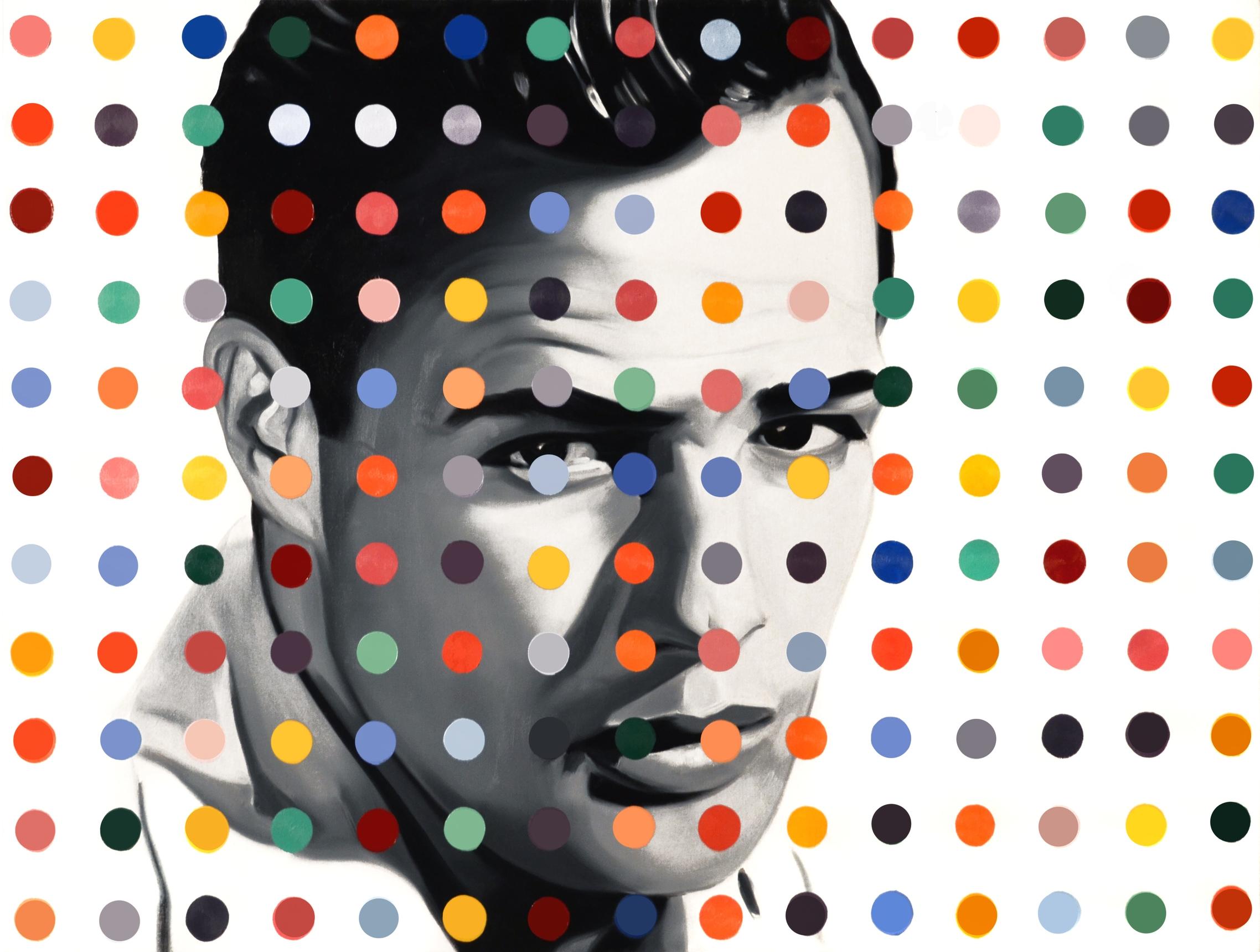 Marlon Dot  Oil on Canvas - 30 x 40in - 2013