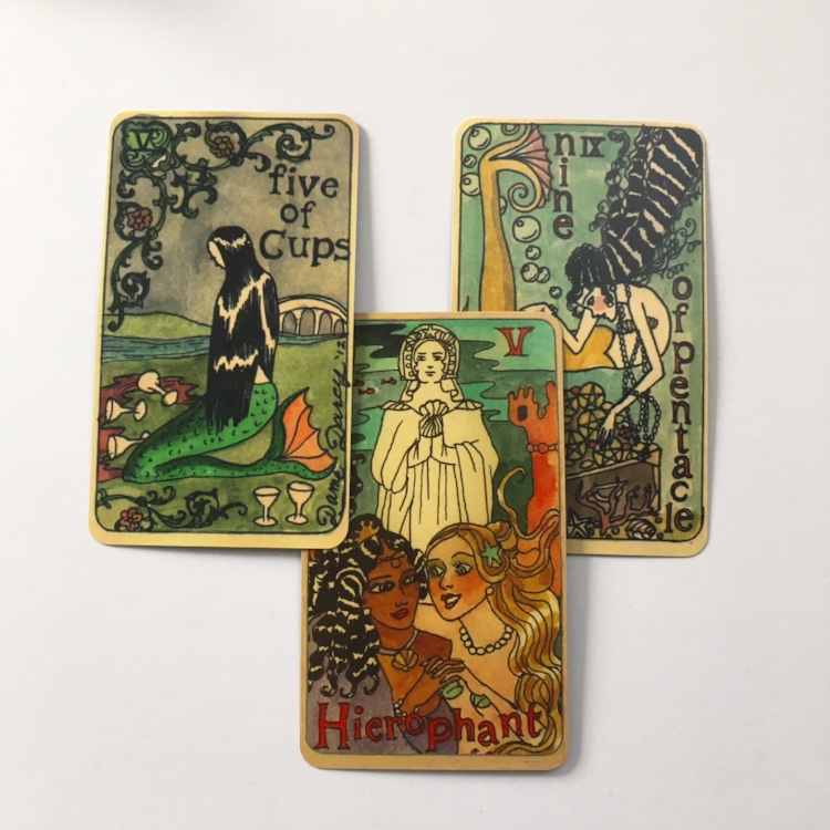 Deck: the Mermaid Tarot by Dame Darcy