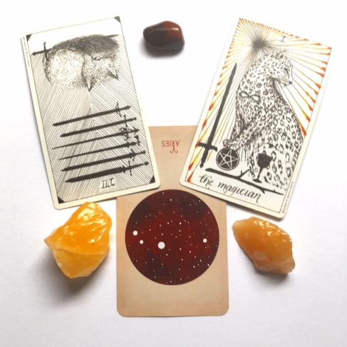 Decks: Wild Unknown Tarot, Arcana of Astrology