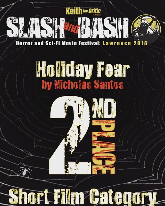 #holidayfear slashed and bashed its way into #secondplace at the #slashandbashfilmfestival!