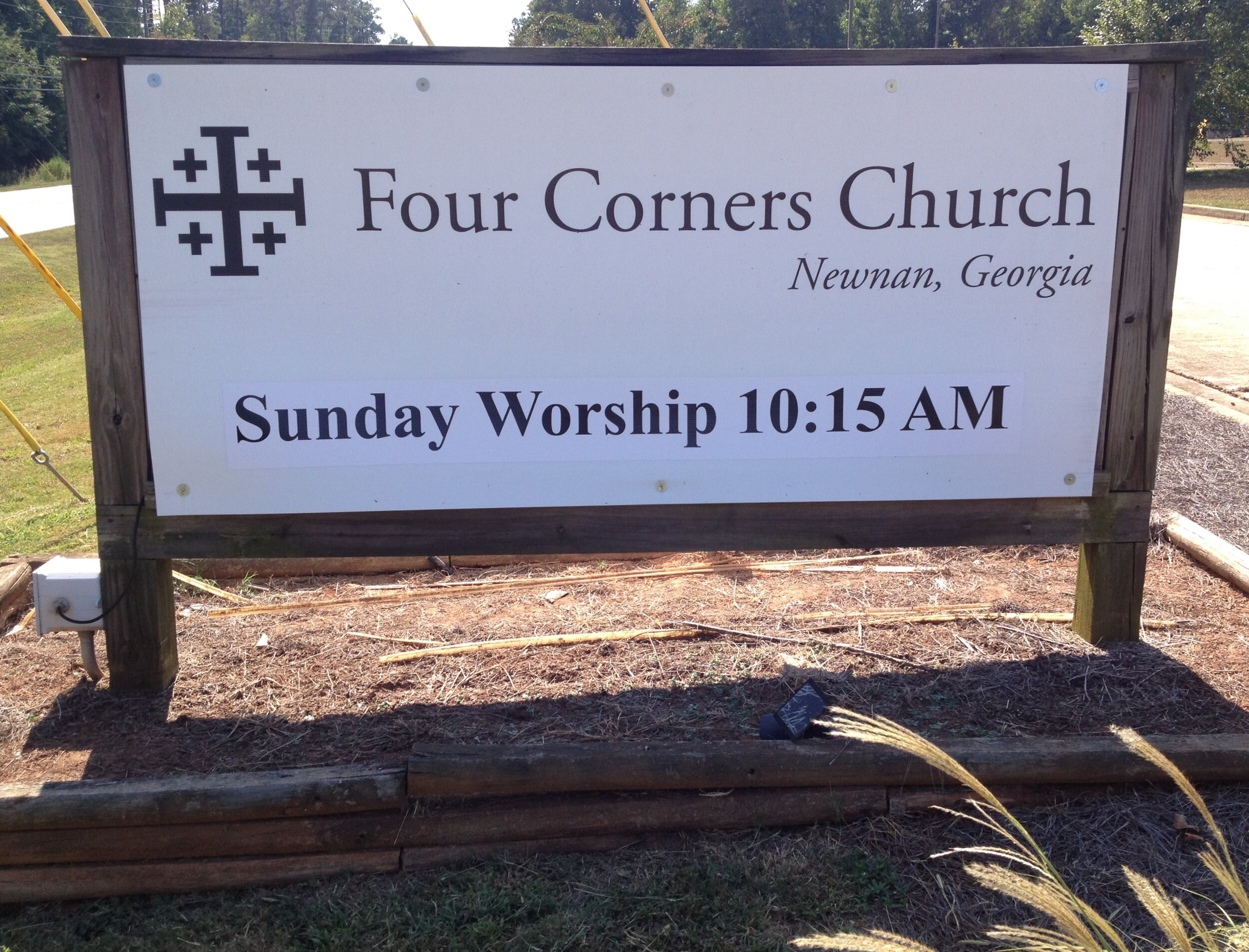 Come and worship with us at Four Corners Church!