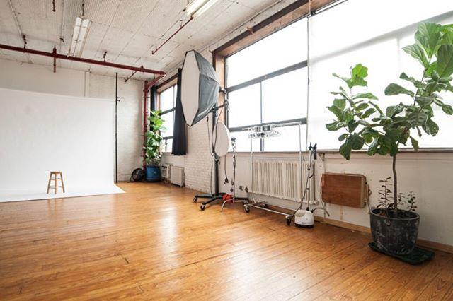 Daylight studio just got brighter! #studio#photography#Brooklyn#Brooklynstudio