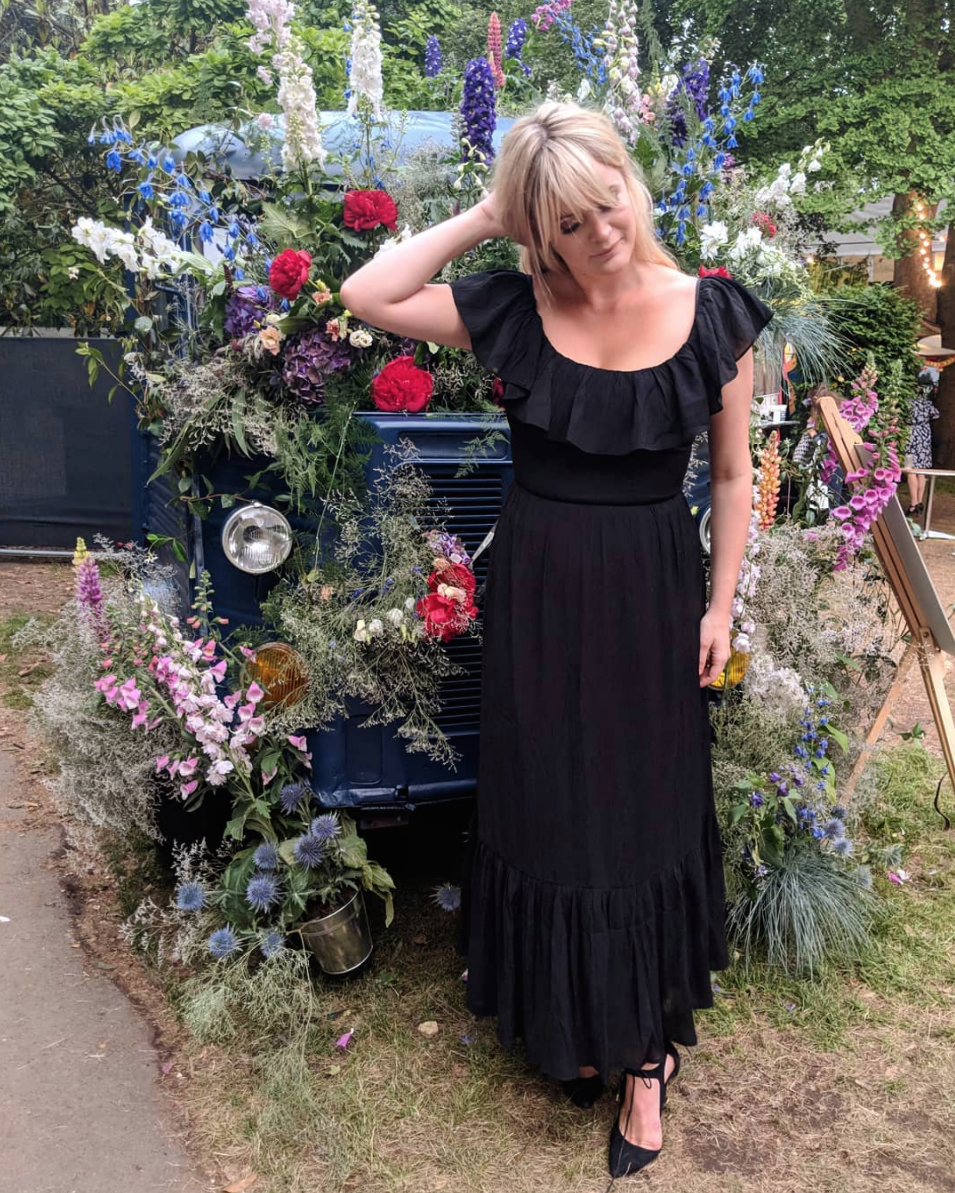 Dolly Alderton wears Gracie in black