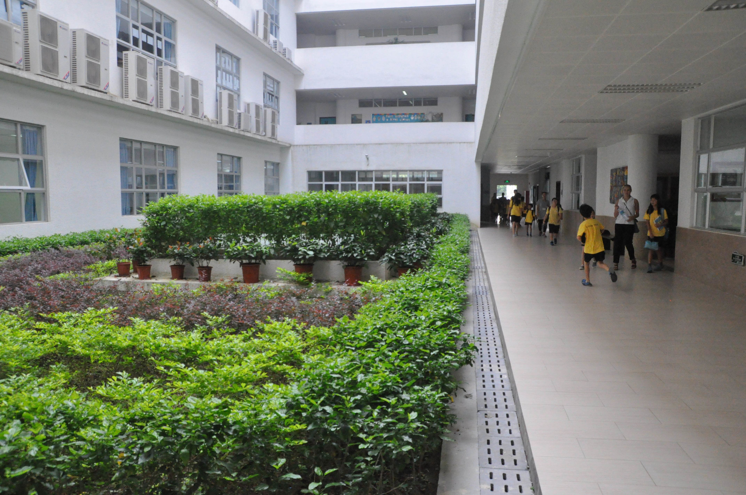 The Inside of the School