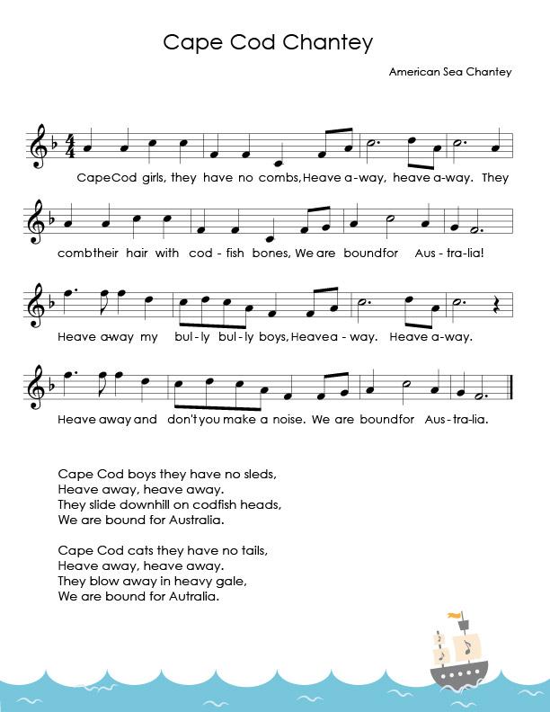 Young Sailors Sheet Music_Cape Cod Chantey.jpg