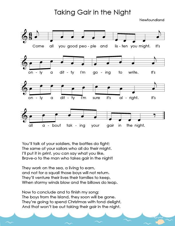Young Sailors Sheet Music_Taking Gair in the Night.jpg