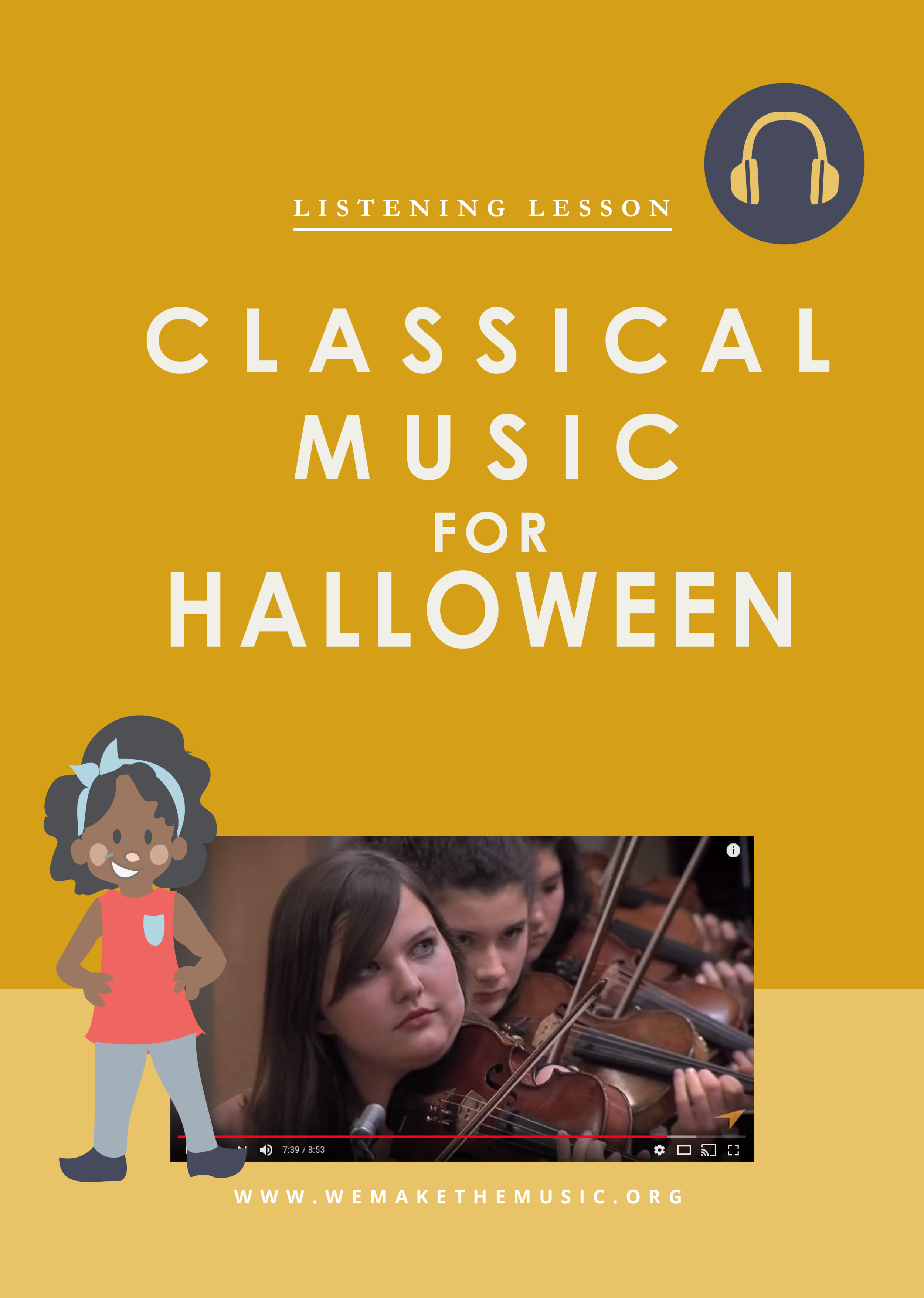 Classical Music Activity for Halloween