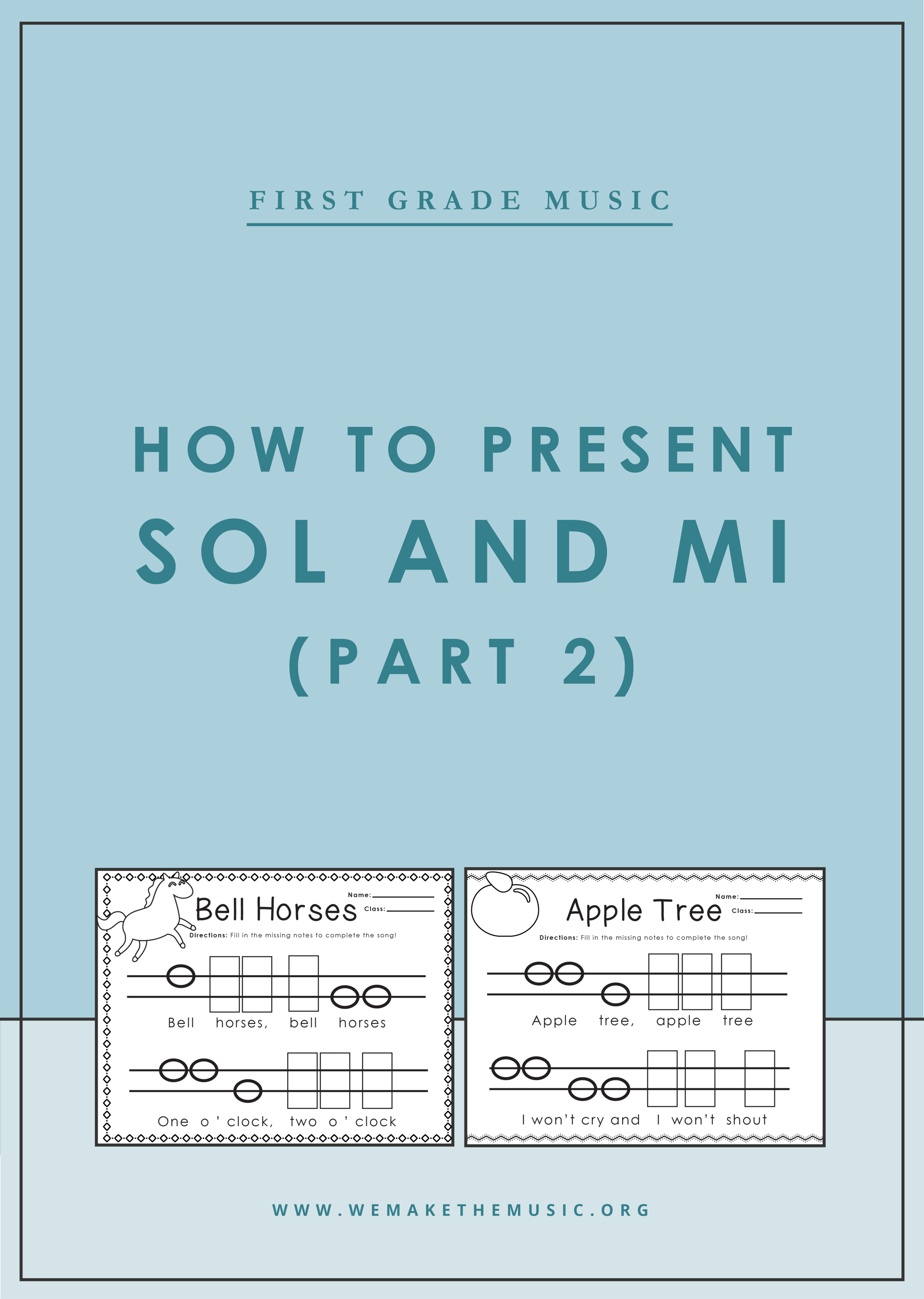 How to Present Sol and Mi