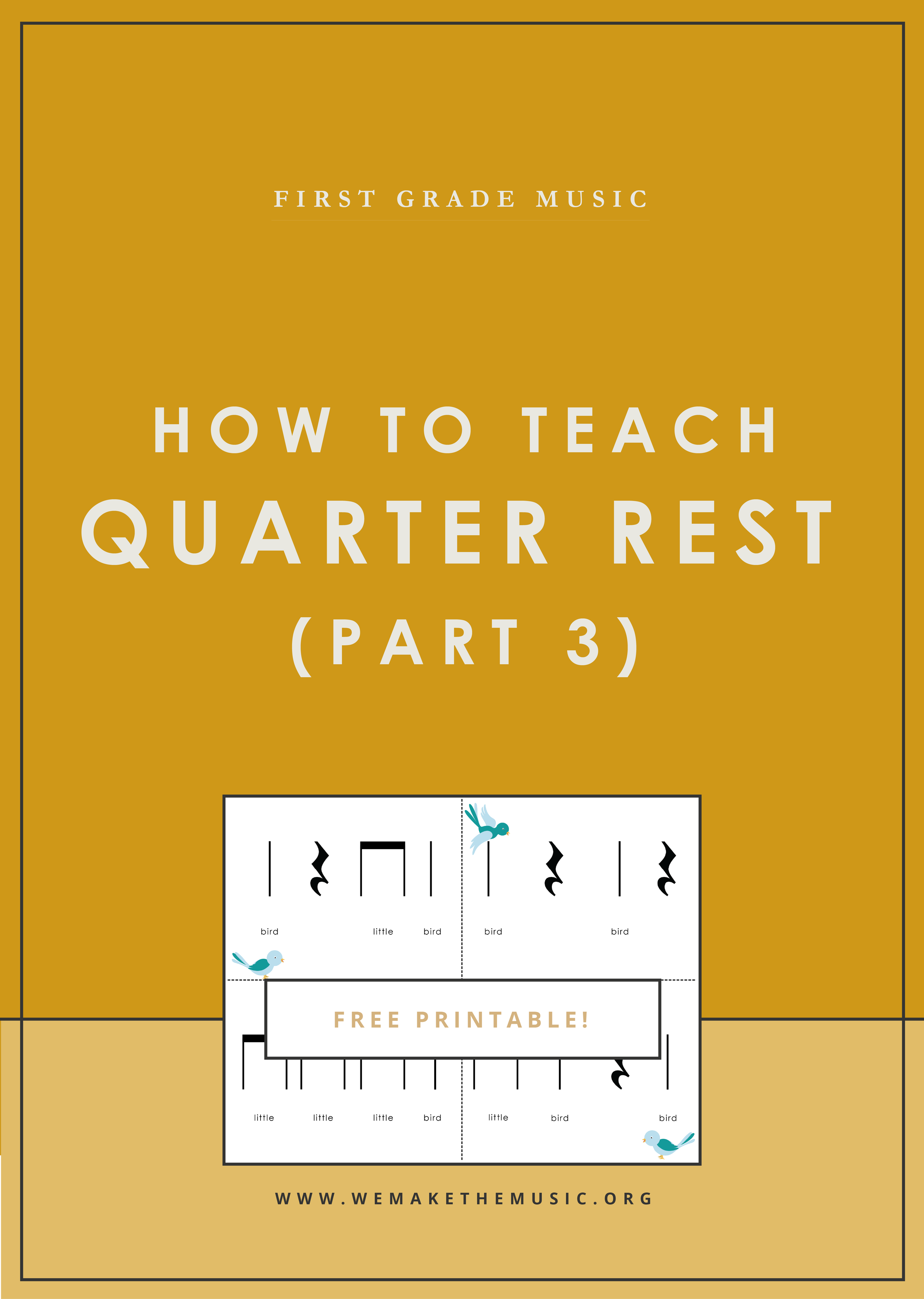 How to Practice Quarter Rest