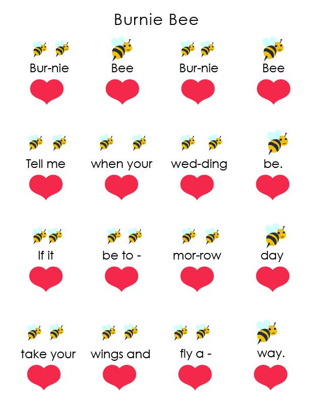 WAMM Rhythm vs Beat Color Worksheets _Burnie Bee 1.jpg