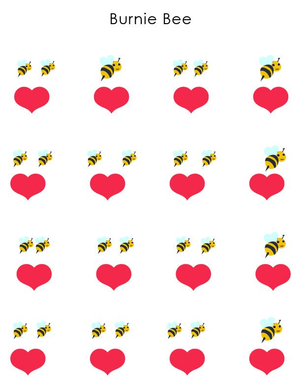 WAMM Rhythm vs Beat Color Worksheets _Burnie Bee 2.jpg