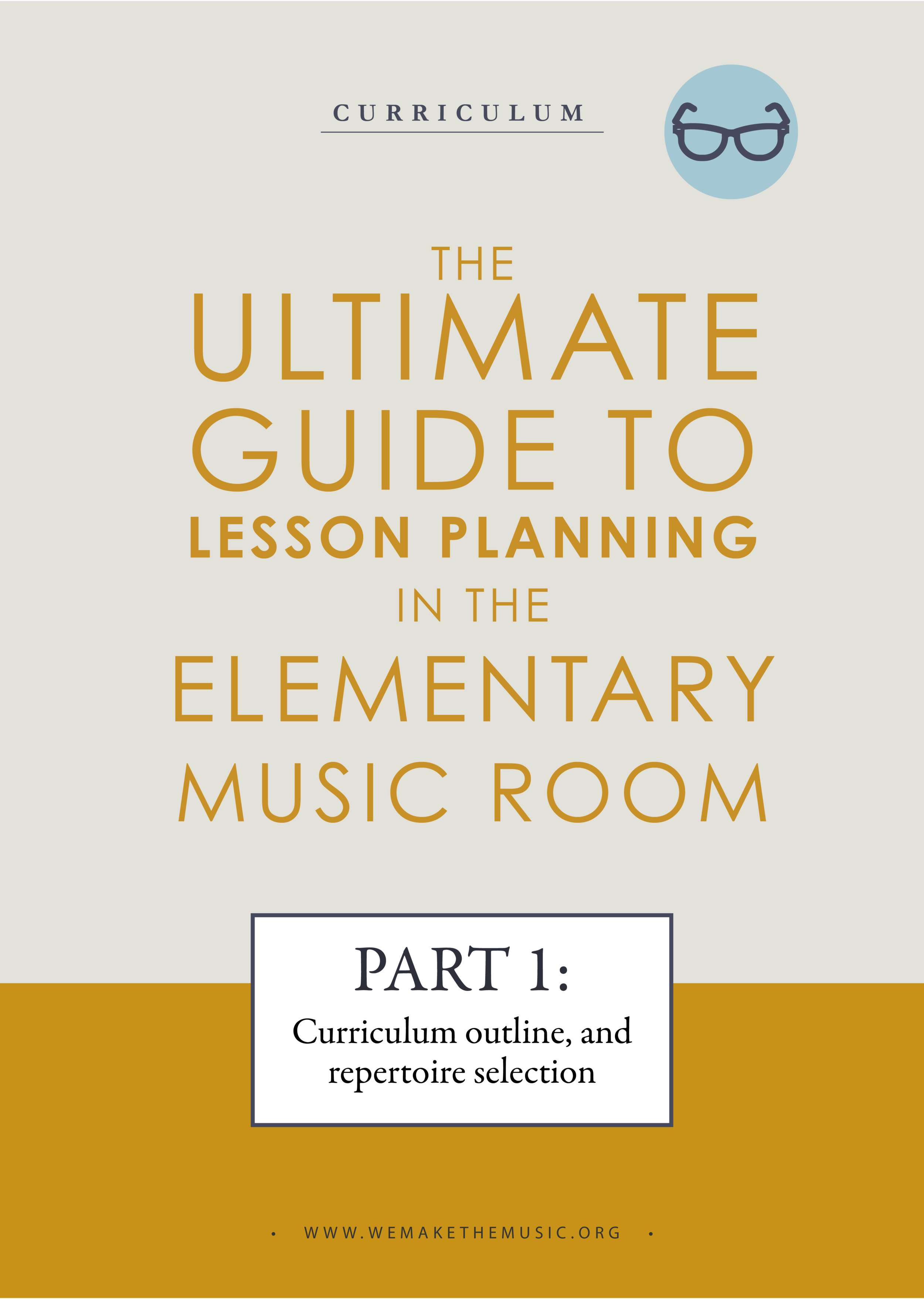 Yearly Planning in the Music Room