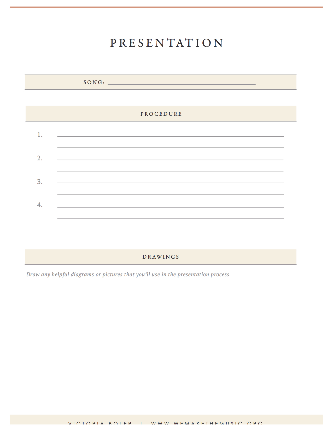 Presentation Elementary Music Planning