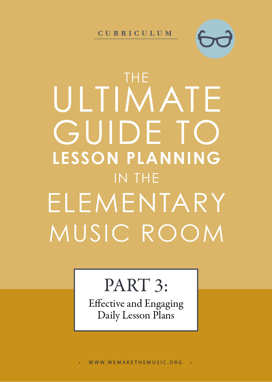 lesson plans for the music room