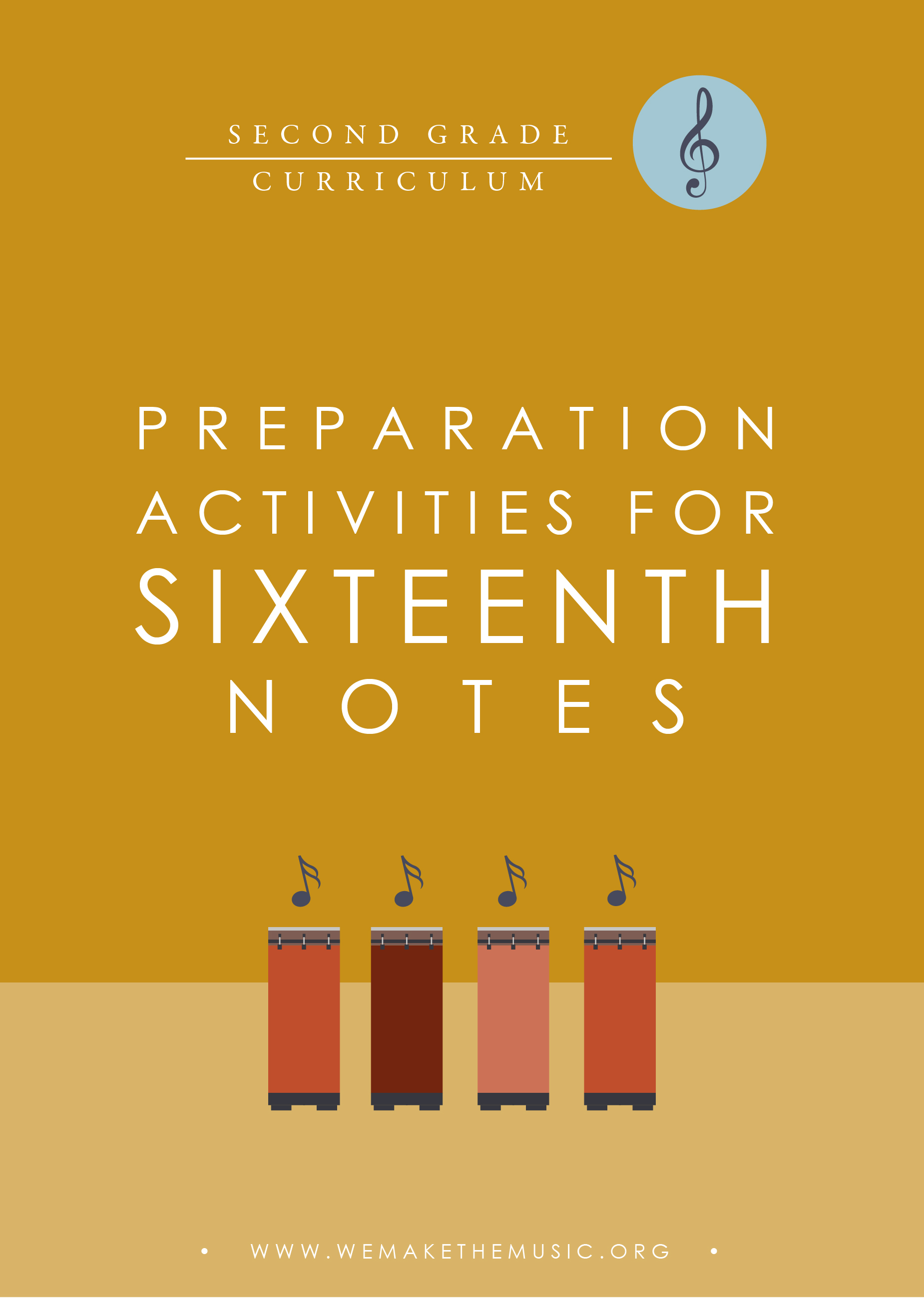 Preparation Activities for 16th Notes Elementary Music