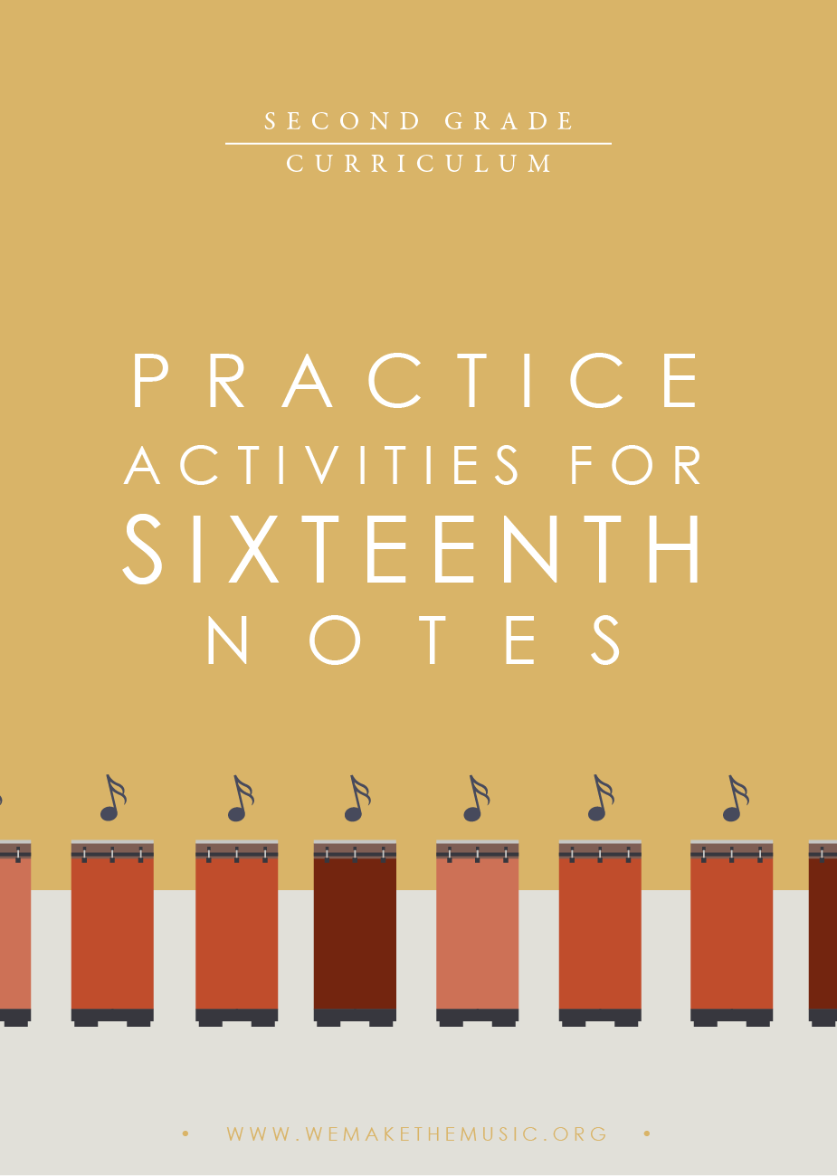 Practice Activities for 16th Notes