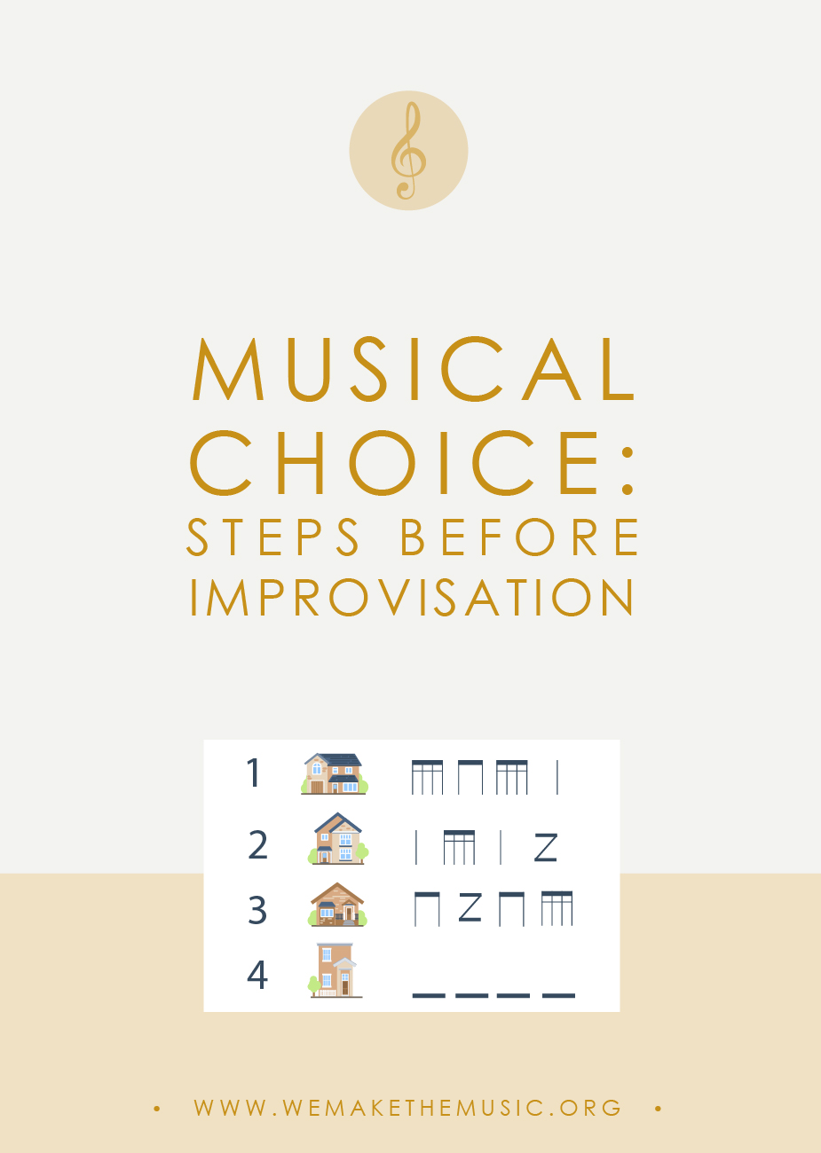 Musical Choice: Steps to Take Before Improvisation