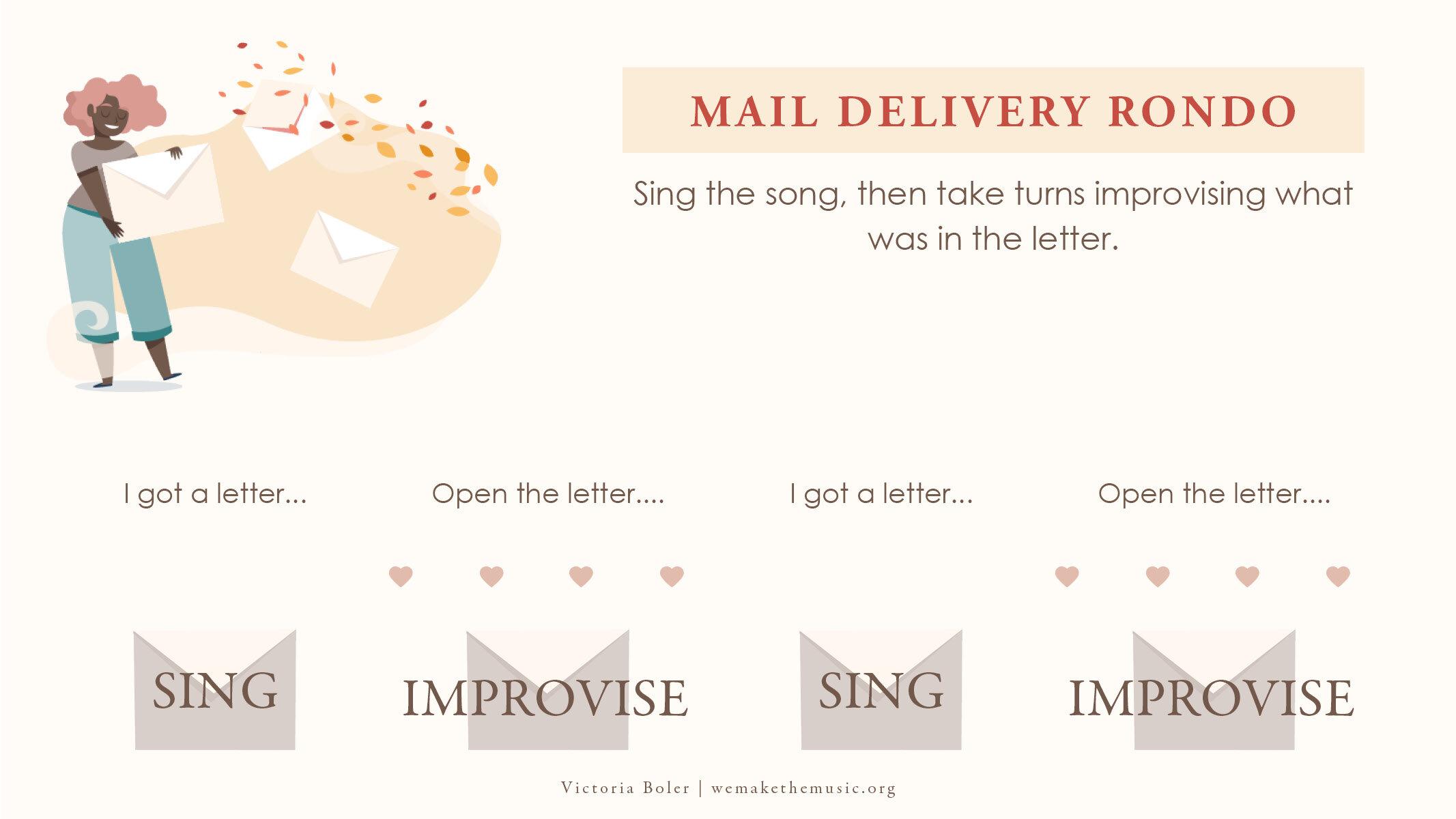Victoria Boler I Got a Letter This Morning Improvisation