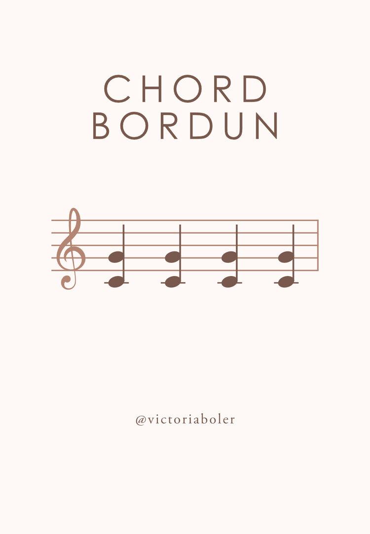 chord bordun