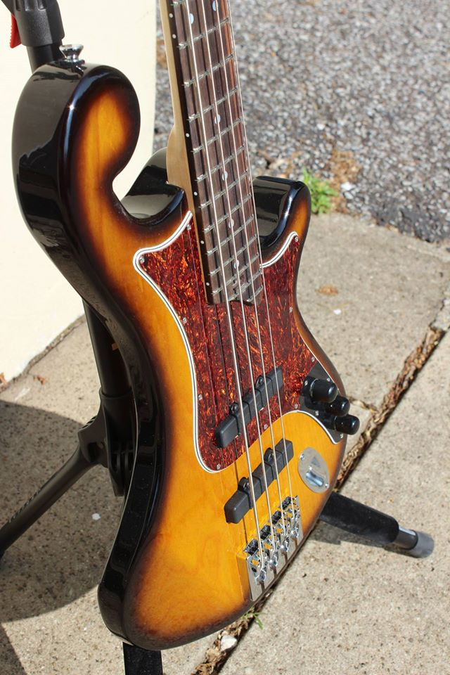 Custom Brooklyn Bass with vintage Tobacco Burst   See More!