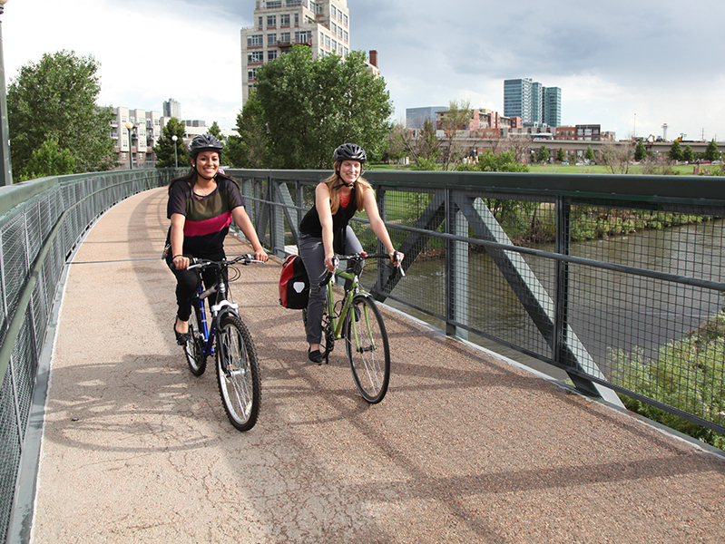 The $100 million of public funding is comprised from two main sources: federal dollars for multi-modal transportation projects and support from Great Outdoors Colorado. No financial support is from the Colorado General Fund. -   Bicycle Colorado